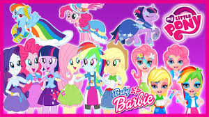 baby barbie equestria s dress up make up games mlp you