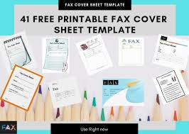 Free Printable Fax Cover 41 Free Printable Fax Cover Sheet Pdf Template That You Can