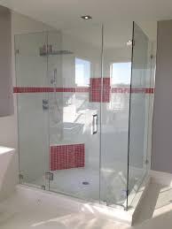 90 degree frameless glass enclosures