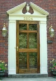 wood storm door with glass storm doors 6 lite glass wood storm doors