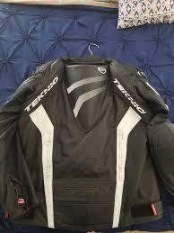 teknic motorcycle leather jacket