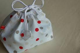 Drawstring Bag Pattern Interesting Stitching Notes Tutorial Bento Drawstring Lunch Bag