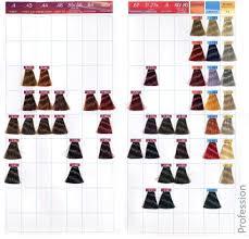 Solfine Color Chart 62 Perspicuous Solfine Color Line Chart