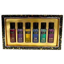 victoria s secret gift set 6 piece fragrance mist spray 75 ml each