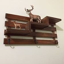 Coat Rack Hanging Amazon Rustic Key Holder Wood Coat Hanger Key Hanger Hanging 95