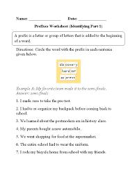 Englishlinx.com | Prefixes Worksheets