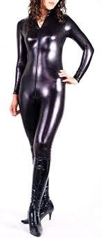 unisex men women catsuit sexy leather long coat black pvc bodysuit dress the matrix halloween cosplay gay latex costume s m l xl