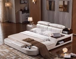 functions furniture. 1810 \u2013 Modern Designer Bed Incl. Storage Functions \u0026 Side Pedestal Furniture E