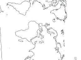 World Map Coloring Pages To Print Map Of The World Coloring Page