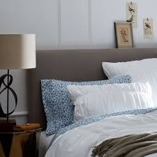 upholstered headboard bed. Interesting Headboard Simple Upholstered Headboard Intended Bed E