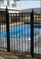 Small Picture Pool Fences BOCA Guidelines for Pool Fences Galvanized