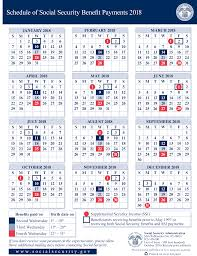 Social Security Disability Pay Chart 2018 2018 Social Security Payment Schedule Smith Godios Sorensen