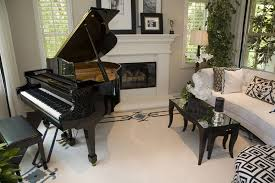 formal living room ideas with piano. Living Room With White Theme Baby Grand Piano Formal Ideas O