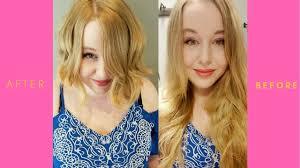 Cool Hair Cuts Styles Trnasformation Long To Medium Hair