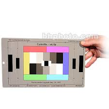 Dsc Labs Handy Camette Test Chart 5 Step Grayscale 6 Primary Colors Camwhite