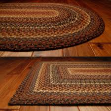 small oval accent rugs wool blend braided clearance turquoise rug modern foot round oblong area decoration square country style weaving circle chenille
