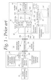 patent us6404347 alarm filter circuit google patents patent drawing