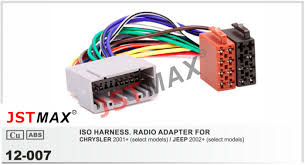 online get cheap jeep wiring harness aliexpress com alibaba group jstmax iso radio adapter for chrysler 2001 for jeep 2002 wire wiring harness