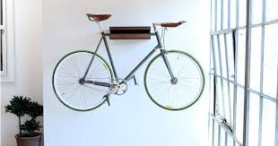 Bike hanger for apartment Ceiling Treehugger 10 Ways To Hang Your Bike On The Wall Like Work Of Art Treehugger