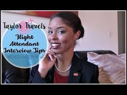 flight attendant interview tips interview