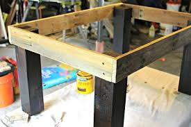 easy pallet and glass coffee table, diy, painted furniture, pallet,  repurposing upcycling