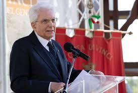 Visita del Presidente della Repubblica Sergio Mattarella a Vinci alla  cerimonia in occasione del cinquecentesimo anniversario della morte di  Leonardo da Vinci