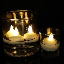 Cheap Floating Tea Light Candles Halloween Decorations Floating Tealight Candles Battery