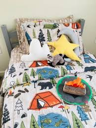 mainstays kids camping bed in a bag