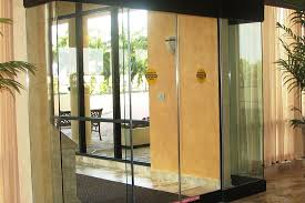 all glass sliding door