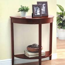 cool half circle wall table 31 on best design interior with half circle wall table