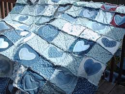 Best 25+ Blue jean quilts ideas on Pinterest | Denim quilts, Denim ... & Here's the blue jean rag quilt I posted about a couple days ago. I still  need to do a lot of clipping and than it will be done. I'm finally . Adamdwight.com