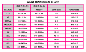 Colombian Waist Trainer Size Chart Waist Trainer Sport Vest 2022