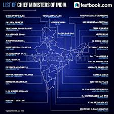 updated list of chief ministers of india