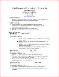 Resume Format For Social Worker Resume Examples Social Work