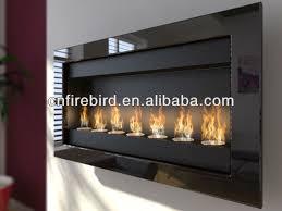 ethanol fireplace fd50 7x round burners wall mounted