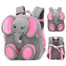 2019 <b>New Fashion</b> Children School Bags for <b>Girls</b> Boy 3D Elephant ...
