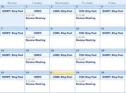 Group Planning Calendar Marketing Planning How To Create An Editorial Calendar