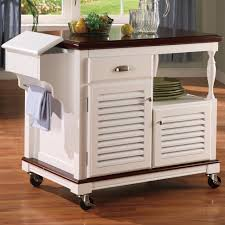 kitchen island cart white. Cherry N White Kitchen Island Cart Kitchen Island Cart White O