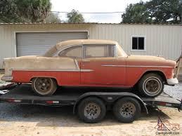 Chevy 2 Door Hardtop Belair Factory V8 Barn Find Project Hot Rat ...