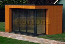 timber garden office. Contemporary Cube Garden Office Pod Timber I