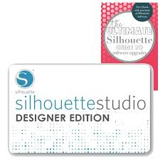 Silhouette Designs For Sale Silhouette Studio Designer Edition Upgrade Instant Code
