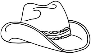 Small Picture Realistic Cowboy Hat Picture Colouring Page Colouring Tube