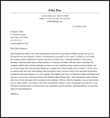 Call Center Cover Letter Example Professional Call Center Representative Cover Letter Sample