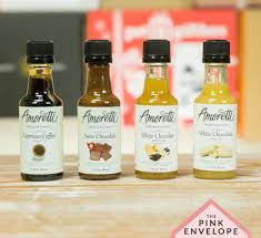 Fast & free shipping on many items! Amoretti Syrup Sample Box From Amazon The Pink Envelope