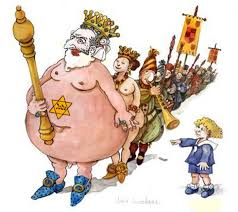 Image result for the jewish emperor wears no clothes
