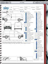 Vehicle Inspection Form Car Rental Company Uses IPad For Vehicle Inspection Form Connections 5