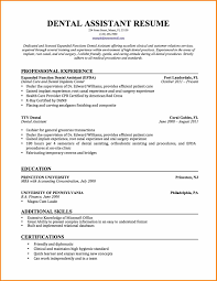 Orthodontic Assistant Resume Sample Dental Student Resumes Magdalene Project Org