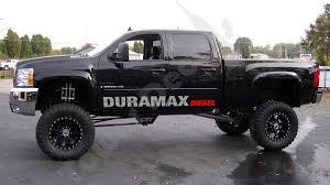 2 COLOR DURAMAX DIESEL (4) Door sticker decals emblem Fits: Chevy ...
