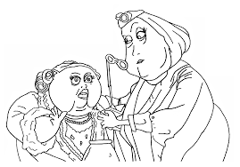 coraline other mother coloring pages