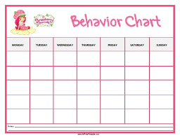 Free Printable Behavior Charts Room Surf Com